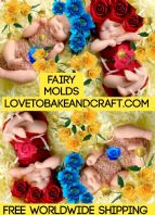 OOAK Fairy, Fairy mold, Fairy mould, Polymer fairy, Free worldwide shipping. (1) (2) (4)